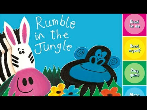Rumble in the Jungle by Giles Andreae Read Aloud Children's Books Read Aloud