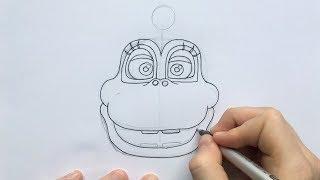 Download How To Draw Happy Frog Head Fnaf 6 Freddy Fazbear S
