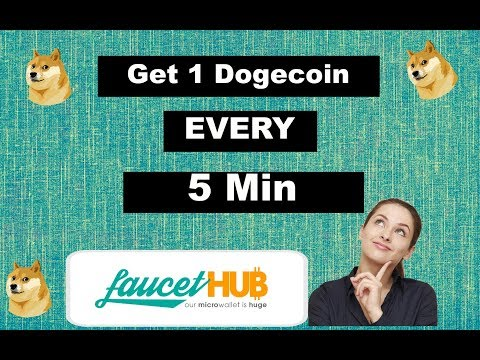 Get 1 Dogecoin Every 5 Min