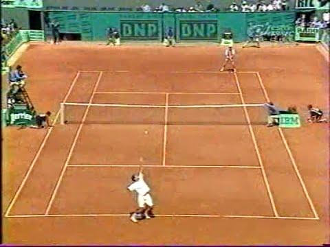 ATP Roland Garros 96 Sampras vs Courier QF