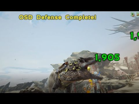 SOLO RED OSD WIN USING A GIGA | ARK EXTINCTION (SINGLE PLAYER)