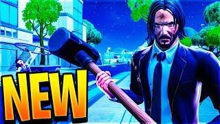 "NEW SKIN by John Wick & THE BEST GAME MODE!! ""THE WICK REWARD"" - Fortnite"