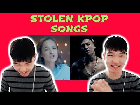 KOREAN REACTS: STOLEN KPOP SONGS