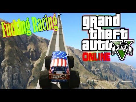(GTA V Online)1#ด่านสุดเกรียน-พบกับการแข่งรถบนภูเขาสุดฮ่า(Funny Moment)