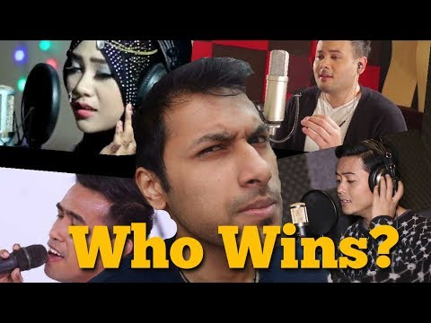 Fildan vs Laila Fajri vs Ridho Rhoma vs Andy KDI | Muskurane (Arjit Singh) | ULTIMATE REACTION!