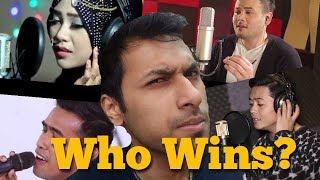vuclip Fildan vs Laila Fajri vs Ridho Rhoma vs Andy KDI | Muskurane (Arjit Singh) | ULTIMATE REACTION!
