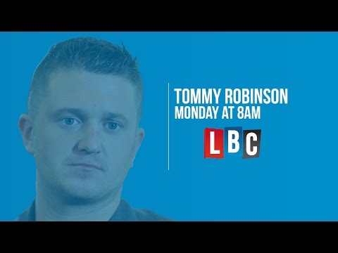 Tommy Robinson: Live On LBC