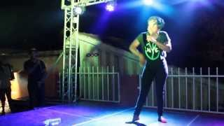 Kansiime Anne live on stage  (amateur video by afroberliner)