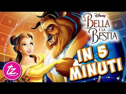 LA BELLA E LA BESTIA | Raccontato in 5 Minuti - Film Disney