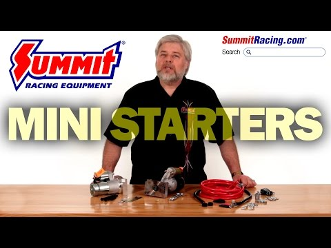 Summit Racing Mini HighTorque Starters for GM