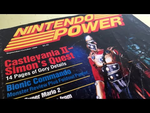 Nintendo Removes Nintendo Power Scans from Internet Archive - #CUPodcast
