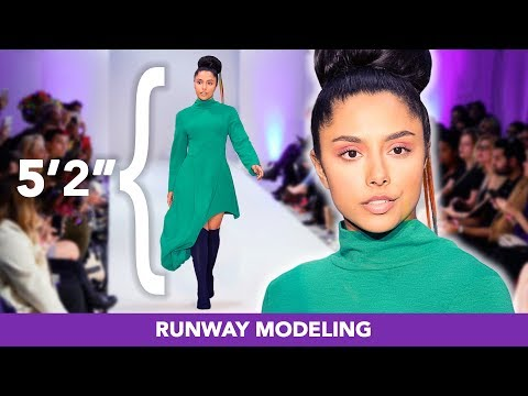 """I Tried To Become A Runway Model at 5'2"""""""