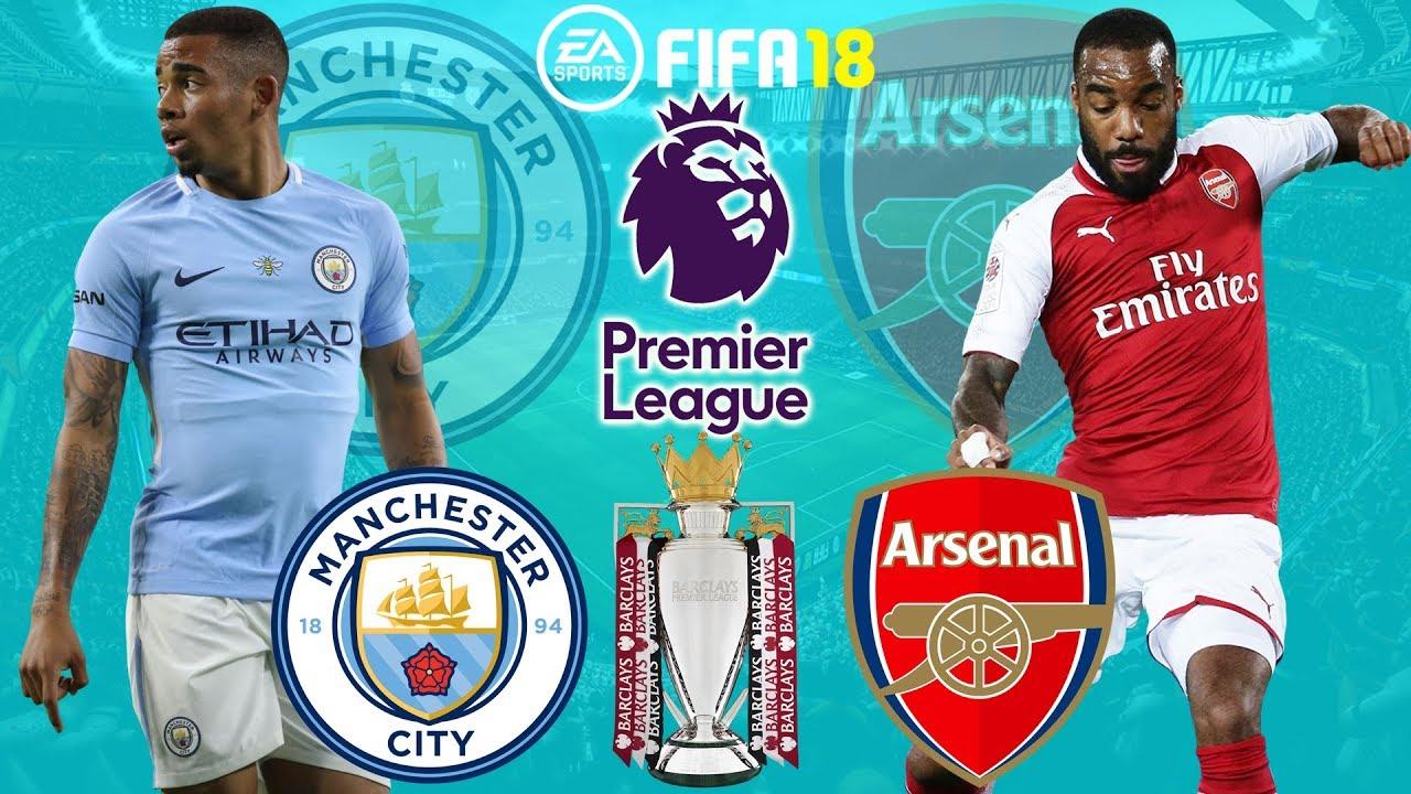 Premier league man city vs arsenal