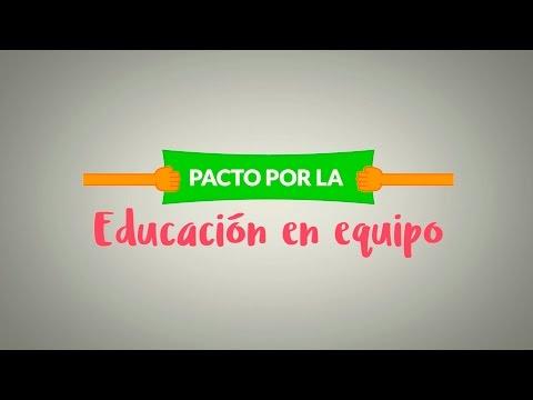 Pacto por la educación con padres y profes