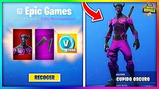 How to GET SKIN *DARK CUPIDO*...!!! (Fortnite TurkeyS Challenges Skin Pack)