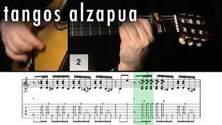 Flamenco Guitar 102 - 14 Tangos Alzapua