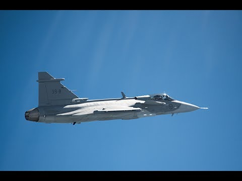 First flight success for Gripen E