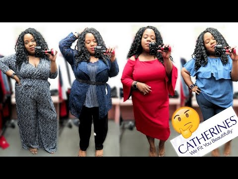 CATHERINES TRY-ON | PLUS SIZE DRESSING ROOM TRY-ON HAUL 2018