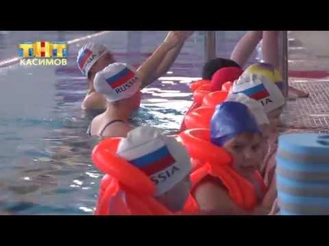 Занятия с дошкольниками в ФСК «Елатьма»