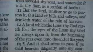 Deuteronomy 11 Holy Bible (King James)
