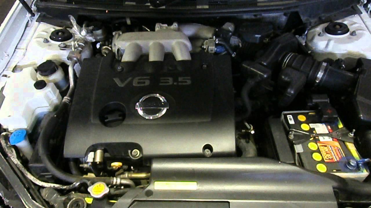 Wrecking 2004 Nissan Maxima J31 3 5 Vq35de V6 Dohc