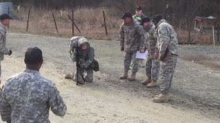 Female Captain Refuses to Give Up During Grueling 12 Mile March