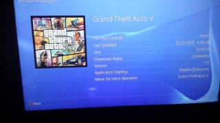 How to install GTA 5 ps4