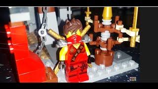 #2 Dojo Showdown Red Ninja Kai!!! Building Lego Ninjago Set 70756