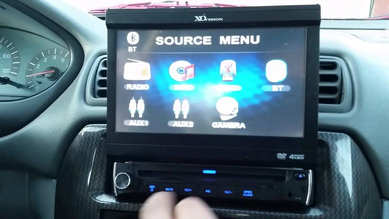 Mitsubishi Galant Gtz Touch Screen Stereo Youtube