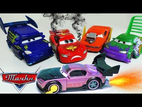 Тачки Маквин ГОНКА Уличные Гонщики Новые серии мультики про машинки для детей Игрушки Disney Cars