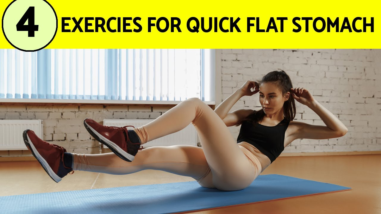 Download Do Plank and These 4 Exercises for Quick Flat Stomach | HealthPedia Flat Stomach