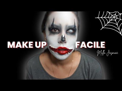 Maquillage halloween facile by Milla Jasmine