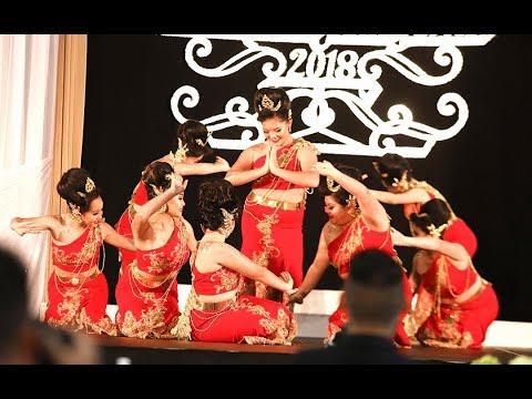 Sacramento Hmong New Year 2017-2018: Dance Comp Rd 2: Yeej Huam Dance Academy