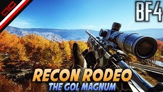 Recon Rodeo - How to Unlock the GOL Magnum (Battlefield 4 Commentary/Gameplay)