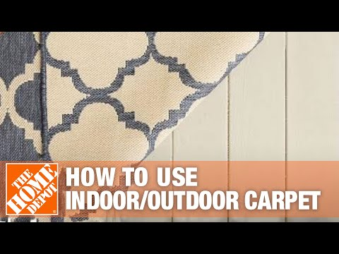 All About Indoor/Outdoor Carpet- The Home Depot - YouTube