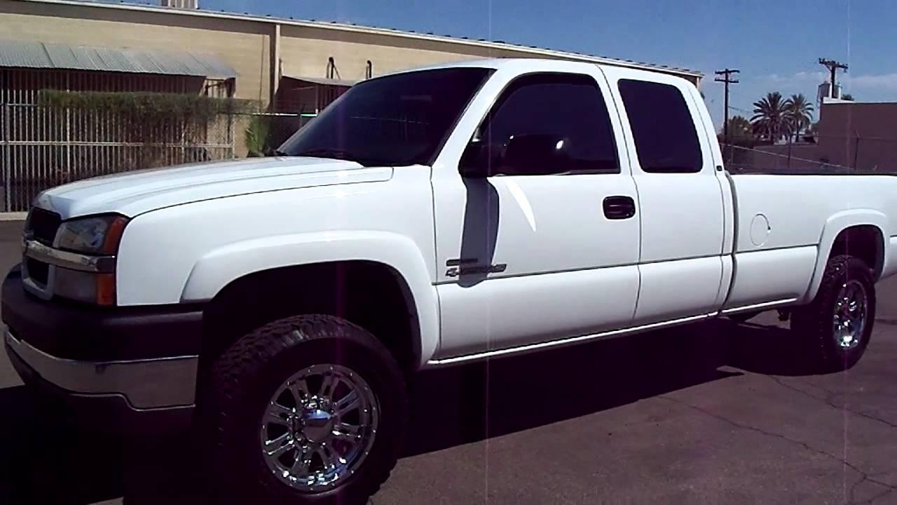 All Chevy chevy 2500 duramax diesel : 2003 Chevrolet Silverado LS Duramax Diesel 2500 HD - YouTube