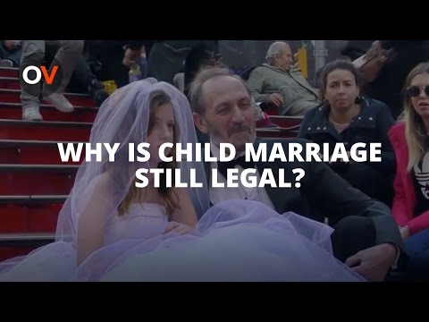 Wordless Wednesday : Why Is Child Marriage Still Legal?
