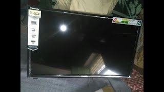 Panasonic 60cm (24 inch) HD Ready LED TV (TH-24E201DX) Unboxing