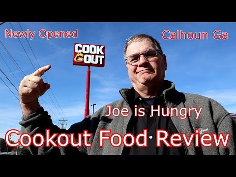Cookout® Big Double Tray Review! | Quesadilla Review | New Location Opening Calhoun GA