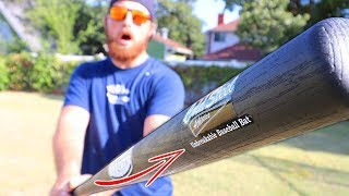 This Baseball Bat Is UNBREAKABLE!