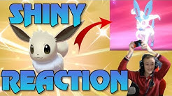 SHINY EVOLI REAKTION! Pokemon Schwert und Schild