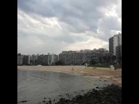 Travel to the Beach in Montevideo Uruguay คนไทยไกลบ้าน  ชีวิตในต่างประเทศ   ท่องเที่ยวต่างประเทศ  