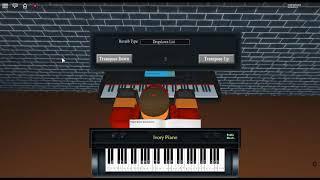 Roxas's Theme - Kingdom Hearts II/2 by: Yoko Shimomura on a ROBLOX piano.