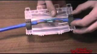 Соединение подводного кабеля заливной муфтой 3М 91-NBA-0(, 2010-12-19T09:37:25.000Z)