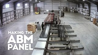 Making The Abm Metal Roof Panel