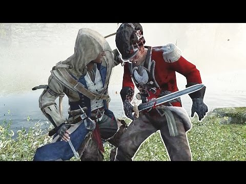 Assassin's Creed 3 Connor's Brutal Rampage & Revolutionary War