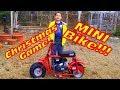Christmas Game and Coleman CT100 Mini Bike