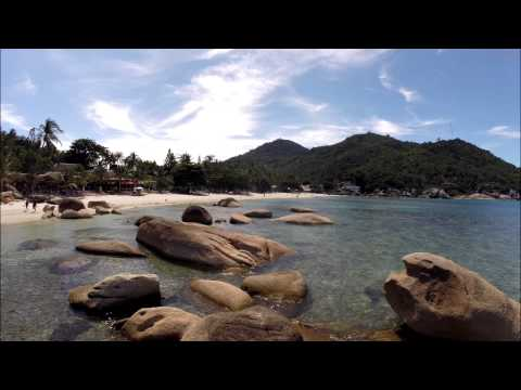 Aerial video Crystal Bay beach – Koh Samui – Chaweng – Thailand