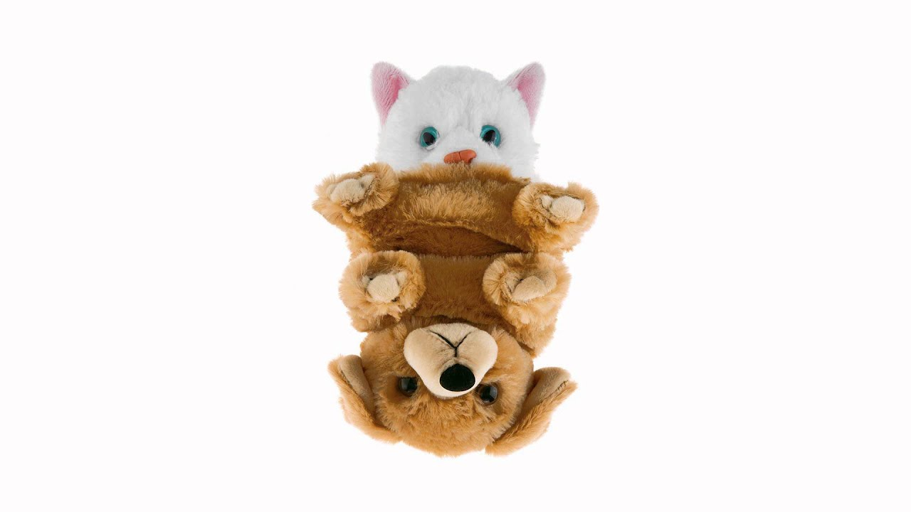 Switch A Rooz Purrs Paws Dog Cat Stuffed Animal Wild Republic