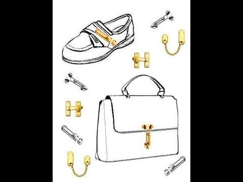 Sneakers & Bags : brass hardware fittings/Borse & S : ferramenta d'ottone